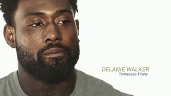 NFL TV Spot, '2017 Salute to Service: Truest Hero' Featuring Delanie Walker - Thumbnail 1