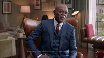 Capital One Quicksilver TV Spot, 'Therapy' Featuring Samuel L. Jackson