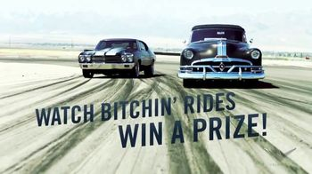 Velocity Bitchin' Rides Bitchin' Prize Sweepstakes TV Spot, 'Auction Trip'