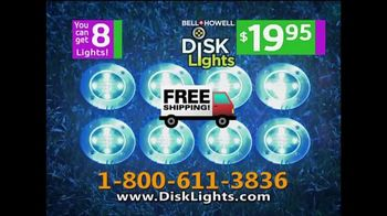 Bell + Howell Disk Lights TV Spot, 'Incredible Cascades of Light' - Thumbnail 8