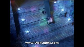 Disk Lights TV Spot, 'Incredible Cascades of Light'