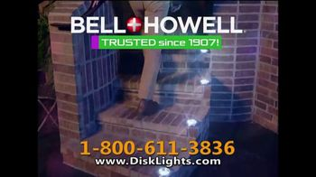 Bell + Howell Disk Lights TV Spot, 'Incredible Cascades of Light' - Thumbnail 6