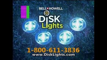 Bell + Howell Disk Lights TV Spot, 'Incredible Cascades of Light' - Thumbnail 7