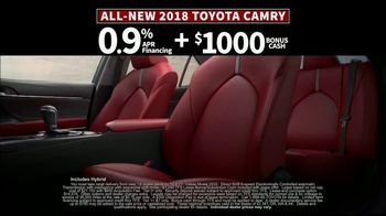 2018 Toyota Camry TV Spot, 'Jaw-Dropping Design' [T2] - Thumbnail 8