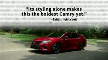 2018 Toyota Camry TV Spot, 'Jaw-Dropping Design' [T2] - Thumbnail 1