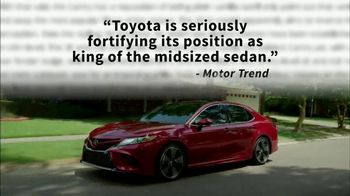 2018 Toyota Camry TV Spot, 'Jaw-Dropping Design' [T2] - Thumbnail 2