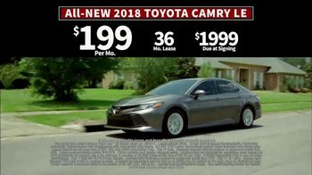 2018 Toyota Camry TV Spot, 'Jaw-Dropping Design' [T2] - Thumbnail 7