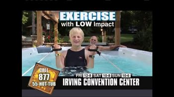 Spa Blowout Swimspa Sales Event TV Spot, '2017 Irving Convention Center'