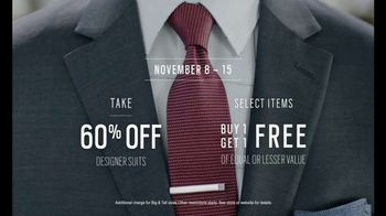 Men\'s Wearhouse TV Spot, \'Designer Suit Deals\'