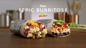 Del Taco Epic Burritos TV Spot, 'Epic Quality' - Thumbnail 1