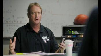 Dunkin' Donuts App TV Spot, 'Coffee Coach: Boom' Featuring Jon Gruden - Thumbnail 2