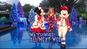 Disney Vacation Club TV Spot, 'CBS: Wheel of Fortune Giveaway'
