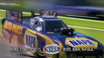 NHRA TV Spot, '2017 Auto Club Finals: World Champions' Featuring Ron Capps