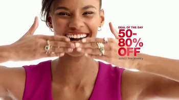 Macy's One Day Sale TV Spot, 'Fine Jewelry, Clearance Handbags and Bras' - Thumbnail 4