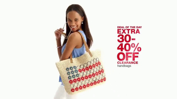 Macy's One Day Sale TV Spot, 'Fine Jewelry, Clearance Handbags and Bras' - Thumbnail 6