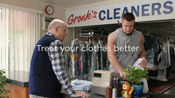 Tide PODS Plus Downy TV Spot, 'Customers Come First at Gronk's Cleaners' - Thumbnail 8