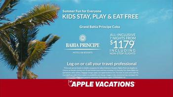 Apple Vacations TV Spot, 'Bahia Principe Summer Fun' - Thumbnail 7