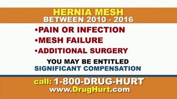 Danziger & De Llano TV Spot, 'Hernia Mesh' - Thumbnail 2