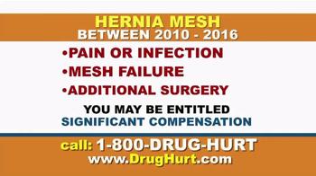 Danziger & De Llano TV Spot, 'Hernia Mesh' - Thumbnail 3