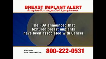 Pulaski Law Firm TV Spot, 'Breast Implants' - Thumbnail 2