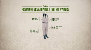 Cabela's TV Spot, 'Every Day Value Products: Breathable Fishing Waders' - Thumbnail 7