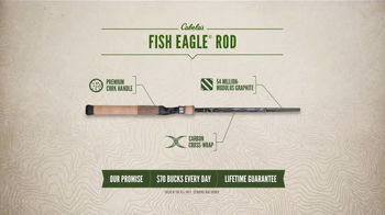 Cabela's TV Spot, 'Every Day Value Products: Fish Eagle Rod' - Thumbnail 6