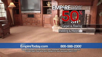 Empire Today 50-50-50 Sale TV Spot, 'Don't Miss It' - Thumbnail 4