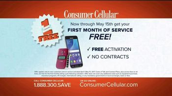 Consumer Cellular TV Spot, 'Porch: First Month Free: Plans $10+ a Month' - Thumbnail 7