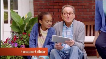 Consumer Cellular TV Spot, 'Porch: First Month Free: Plans $10+ a Month' - Thumbnail 2