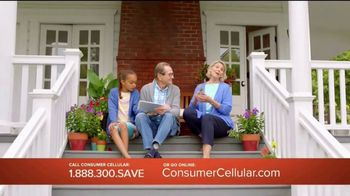 Consumer Cellular TV Spot, 'Porch: First Month Free: Plans $10+ a Month' - Thumbnail 3