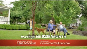 Consumer Cellular TV Spot, 'Porch: First Month Free: Plans $10+ a Month' - Thumbnail 4