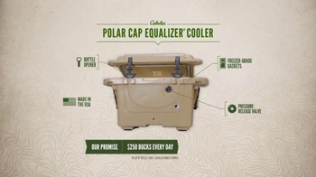 Cabela's TV Spot, 'Every Day Value Products: Polar Cap Equalizer Cooler' - Thumbnail 7