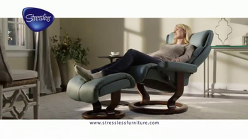Stressless Furniture TV Spot, 'One Place' - Thumbnail 3