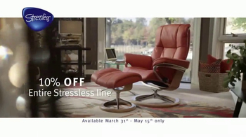 Stressless Furniture TV Spot, 'One Place' - Thumbnail 5