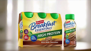 Carnation Breakfast Essentials High Protein TV Spot, 'Day Never Started' - Thumbnail 3