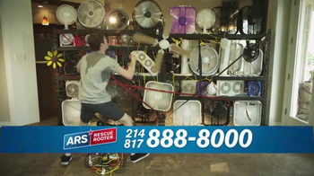 ARS Rescue Rooter TV Spot, 'Air Conditioner Savings' - Thumbnail 3