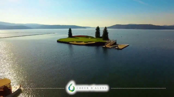 Coeur d'Alene Convention & Visitors Bureau TV Spot, 'Golf' - Thumbnail 1