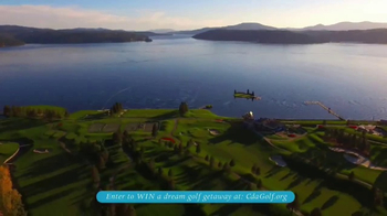 Coeur d'Alene Convention & Visitors Bureau TV Spot, 'Golf' - Thumbnail 4