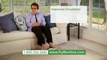 Revitive Circulation Booster TV Spot, 'Get the Relief You Deserve' - Thumbnail 4