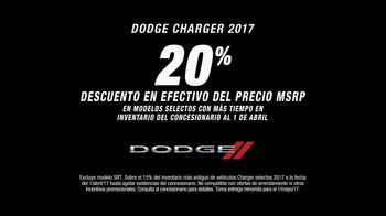 Dodge Evento The Fast & Furious TV Spot, '2017 Charger' [Spanish] [T2] - Thumbnail 5