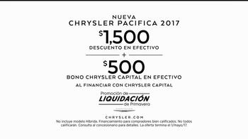 Chrysler Liquidación de Primavera TV Spot, 'No seas ese tipo' [Spanish] [T2] - Thumbnail 8