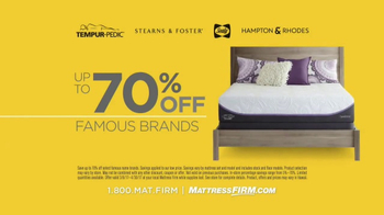 Mattress Firm Once in a Lifetime Sale TV Spot, 'Next Generation' - Thumbnail 4