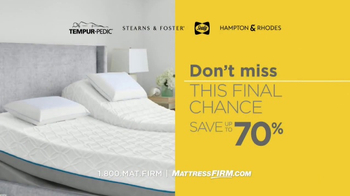 Mattress Firm Once in a Lifetime Sale TV Spot, 'Next Generation' - Thumbnail 8