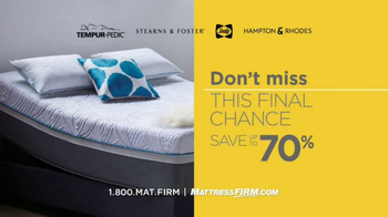 Mattress Firm Once in a Lifetime Sale TV Spot, 'Next Generation' - Thumbnail 9