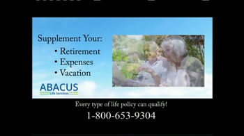 Abacus Life Services TV Spot, 'It's Your Policy, Use it Now!' - Thumbnail 3