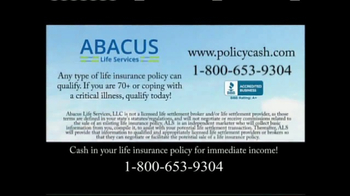 Abacus Life Services TV Spot, 'It's Your Policy, Use it Now!' - Thumbnail 6