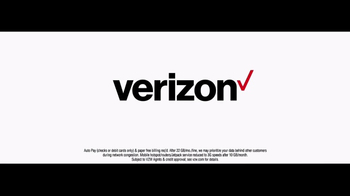 Verizon Unlimited TV Spot, 'All Aboard the Network' Ft. Thomas Middleditch - Thumbnail 8