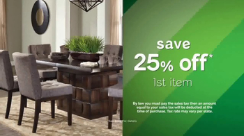 Ashley Homestore Tax Relief Event TV Spot, 'Relief' - Thumbnail 1