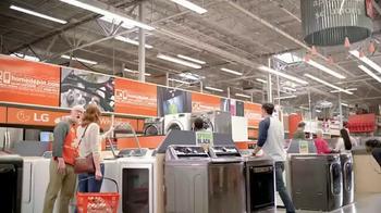 The Home Depot Spring Black Friday TV Spot, 'Electrodomésticos' [Spanish] - Thumbnail 1