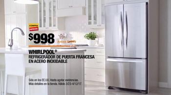 The Home Depot Spring Black Friday TV Spot, 'Electrodomésticos' [Spanish] - Thumbnail 8
